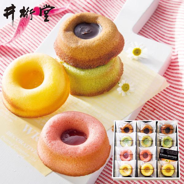 井桁堂 ガトープルポ 12個入 (-G2117-106-) (t0) | 敬老の日 内祝い お祝い フィナンシェ コンフィチュール チョコ 菓子