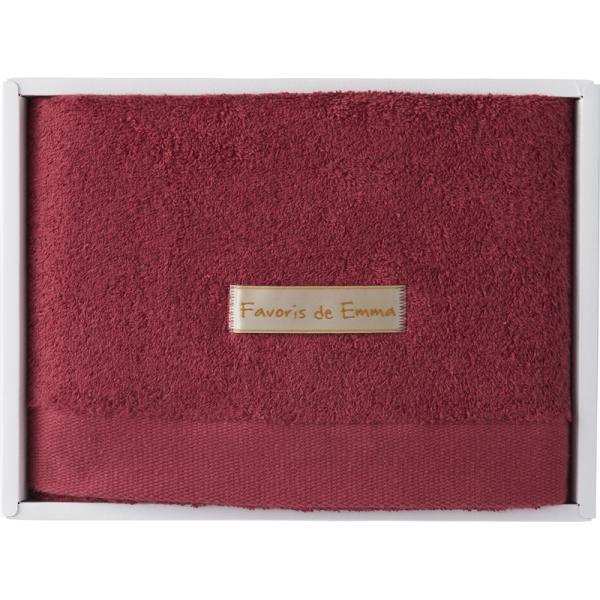 エマのお気に入り ハーフバスタオル ラズベリーピンク EM02003 (個別送料込み価格) (-C2045-566-) | 内祝い ギフト 出産内祝い 快気祝い お返し 志