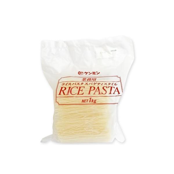 乾物屋の底力 業務用ライスパスタ 1kg  【ケンミン食品 米パスタ スパゲティスタイル】