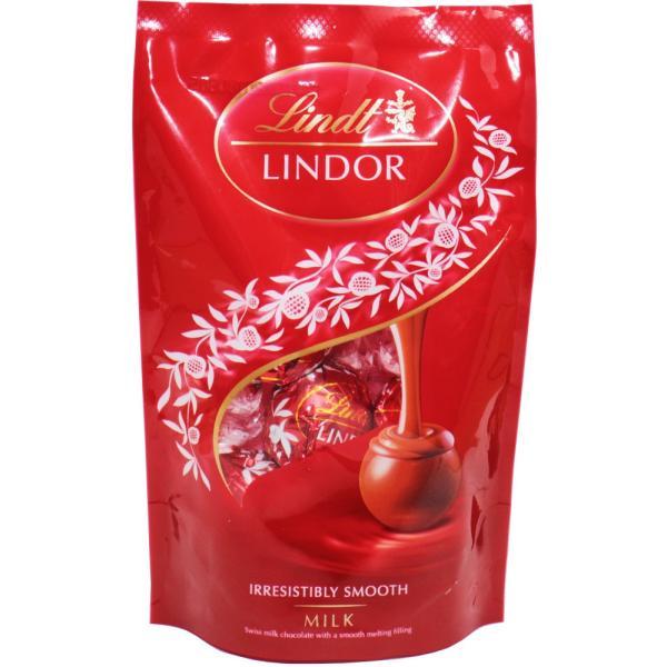 リンツ(Lindt) リンドール ミルクパック 60g   【個包装 六甲バター QBB スイス 高級チョコレート トリュフチョコ】