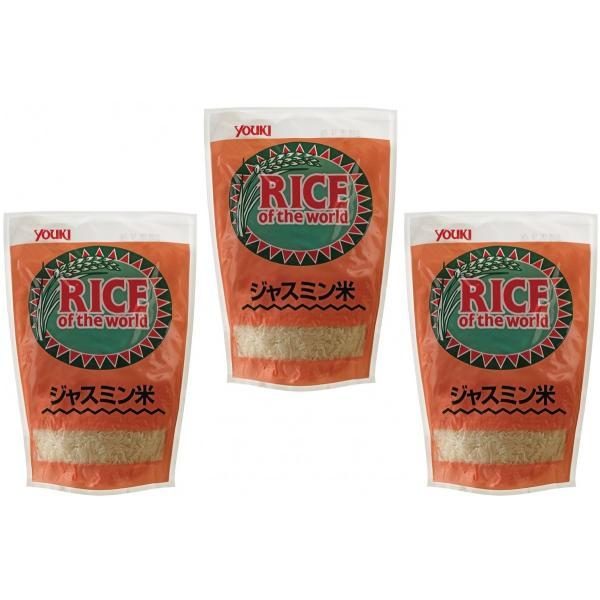 ユウキ食品 ジャスミン米(香り米)  500g×3袋  【YOUKI タイ産 世界の食材 エスニック料理】