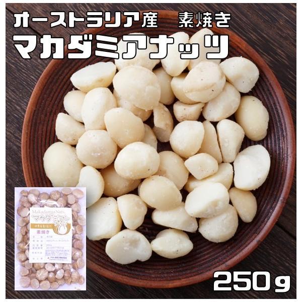 世界美食探究 オーストラリア産 マカダミアナッツ 250g【素焼き】【無塩、無油】