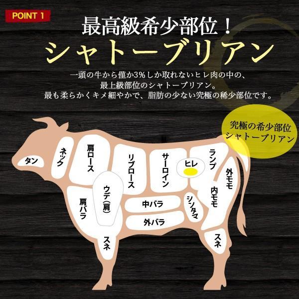 A5 松阪牛 シャトーブリアン ステーキ 150g 国産 tabemore 03
