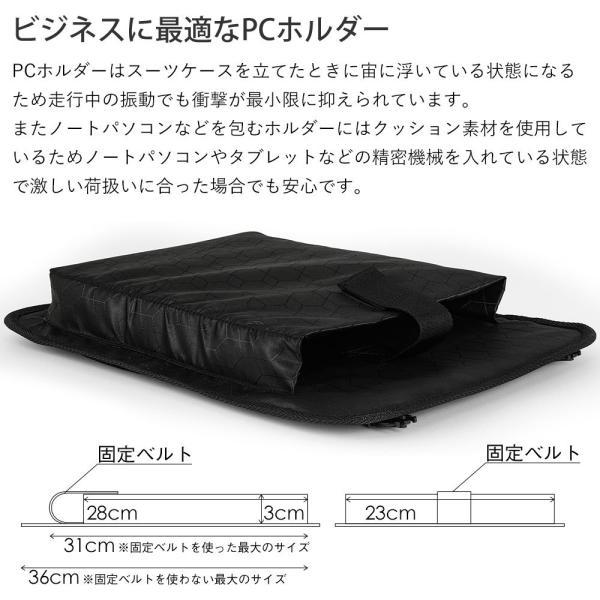 スーツケース 機内持ち込み Sサイズ フロントオープン ファスナー ビジネス キャリーバッグ キャリーケース フロントポケット tabi 15