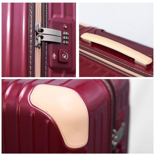スーツケース アウトレット 安い 訳あり Mサイズ 中型 ファスナー 静音 8輪キャスター ダイヤル式TSA キャリーバッグ キャリーケース おしゃれ tabi 04
