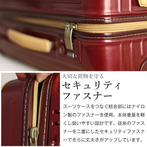 スーツケース アウトレット 安い 訳あり Mサイズ 中型 ファスナー 静音 8輪キャスター ダイヤル式TSA キャリーバッグ キャリーケース おしゃれ tabi 08