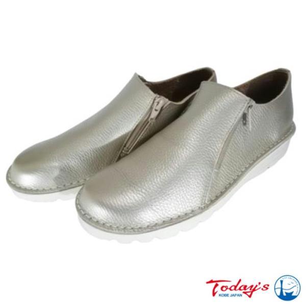 【TODAY's 7301 SG】サイドジップコンフォートスリッポン|tabikutsuya