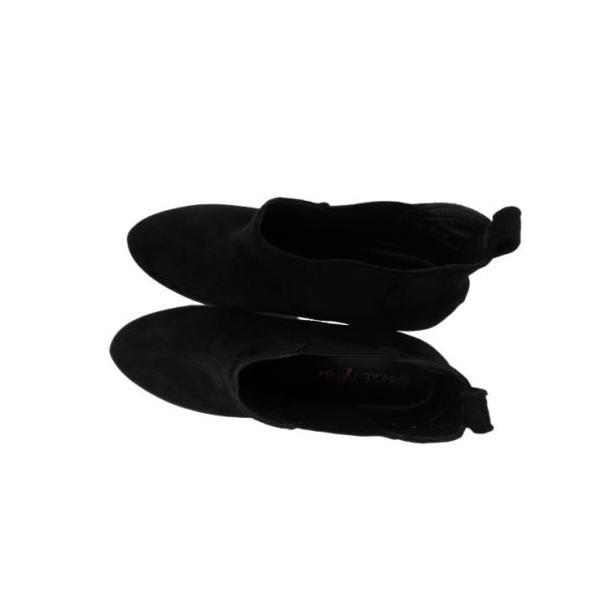 【SPINGLE NIMA NIMA729 ブラック】本革サイドゴアブーティ|tabikutsuya|11