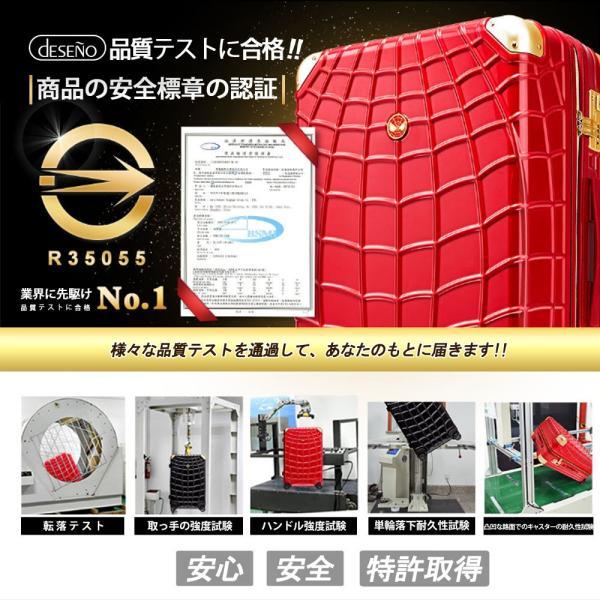 マーベル スパイダーマン スーツケース 赤 Lサイズ 長期旅行 留学 海外 MARVEL SPIDERMAN アメコミ キャラクター|tabinoselectshop|15