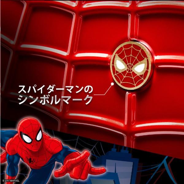 マーベル スパイダーマン スーツケース 赤 Lサイズ 長期旅行 留学 海外 MARVEL SPIDERMAN アメコミ キャラクター|tabinoselectshop|03