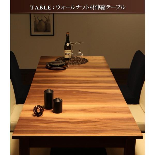 ダイニングテーブル 単品 120cm 伸縮 北欧 〔テーブル幅120〜180cm〕 table-lukit 04