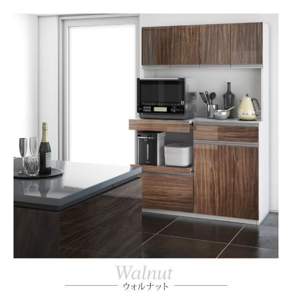 食器棚 鏡面 キッチンボード コンセント付き 大容量収納 〔幅120.5×奥行48.5×高さ180cm〕|table-lukit|18