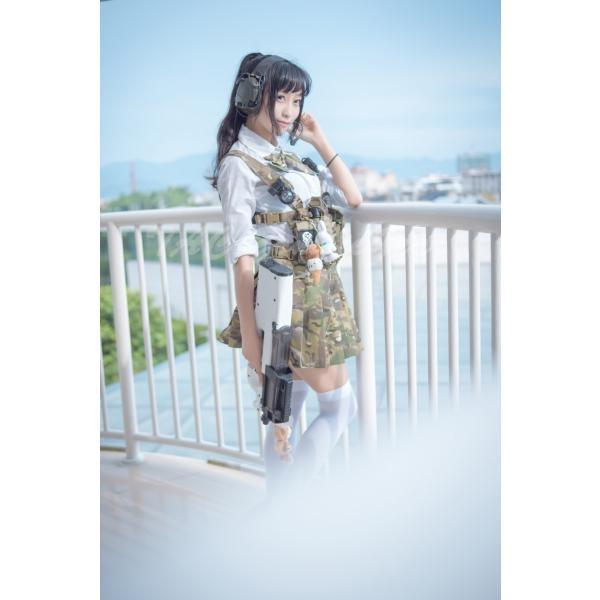 武装JK コンバット プリーツスカート /MultiCam|tac-zombiegear|06
