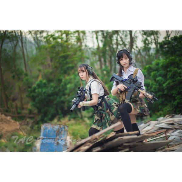 武装JK コンバット プリーツスカート /Woodland|tac-zombiegear