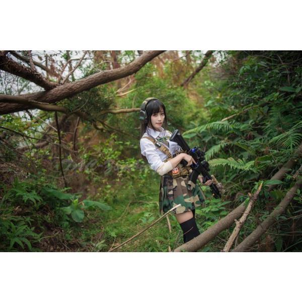 武装JK コンバット プリーツスカート /Woodland|tac-zombiegear|07
