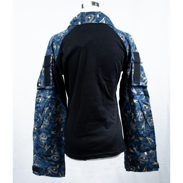 龍柄 コンバットシャツ /  男女兼用|tac-zombiegear|06