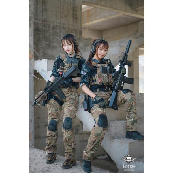 龍柄 コンバットシャツ /  男女兼用|tac-zombiegear|10