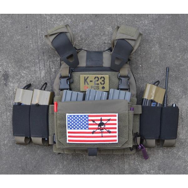 プレートキャリア FCSK2.0 Low Profile Vest/BK・RG|tac-zombiegear|14
