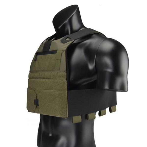 プレートキャリア FCSK2.0 Low Profile Vest/BK・RG|tac-zombiegear|07