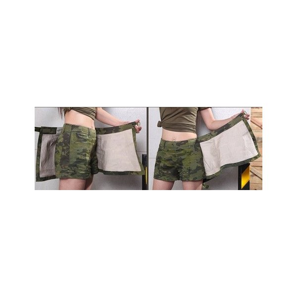 「Iron Wall Guardian」ショートパンツ&キュロットスカート/マルチカムブラック|tac-zombiegear|04