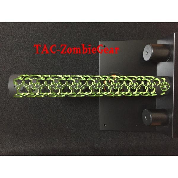 Hex Hazard オリジナルカスタム15インチハンドガード|tac-zombiegear|02