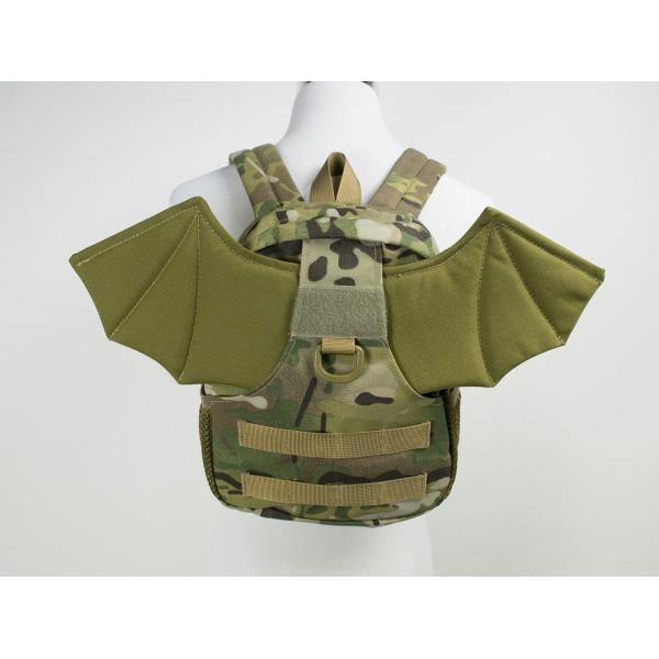 「Little Bat Backpack」 可愛い迷彩リュック 羽付き マルチカム|tac-zombiegear