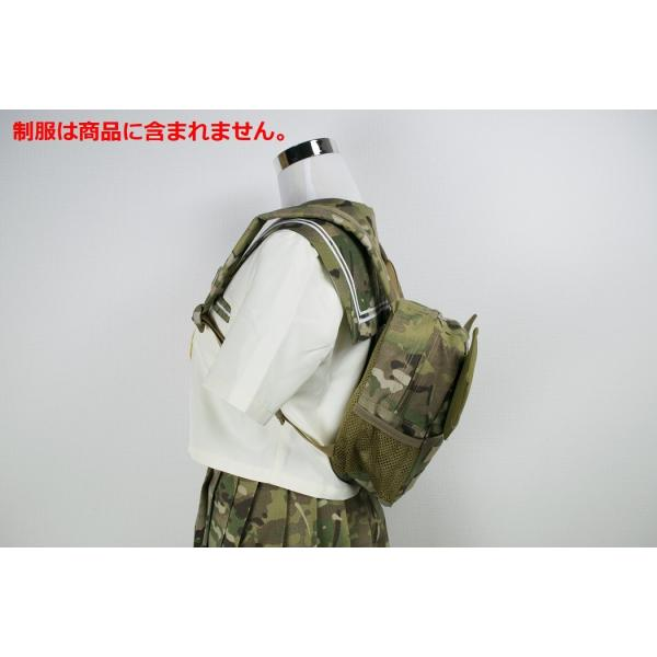 「Little Bat Backpack」 可愛い迷彩リュック 羽付き マルチカム|tac-zombiegear|13