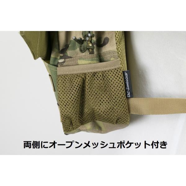 「Little Bat Backpack」 可愛い迷彩リュック 羽付き マルチカム|tac-zombiegear|04