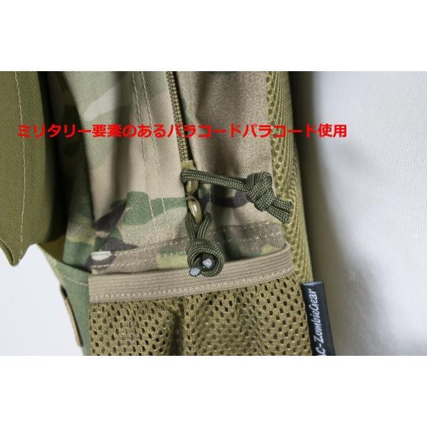 「Little Bat Backpack」 可愛い迷彩リュック 羽付き マルチカム|tac-zombiegear|05