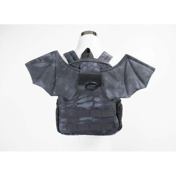 「Little Bat Backpack」 可愛い迷彩リュック 羽付き Typhon|tac-zombiegear