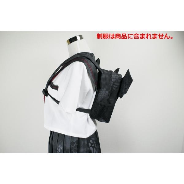 「Little Bat Backpack」 可愛い迷彩リュック 羽付き Typhon|tac-zombiegear|12