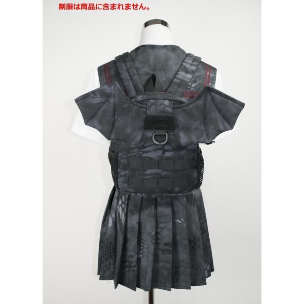 「Little Bat Backpack」 可愛い迷彩リュック 羽付き Typhon|tac-zombiegear|13