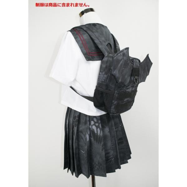 「Little Bat Backpack」 可愛い迷彩リュック 羽付き Typhon|tac-zombiegear|14