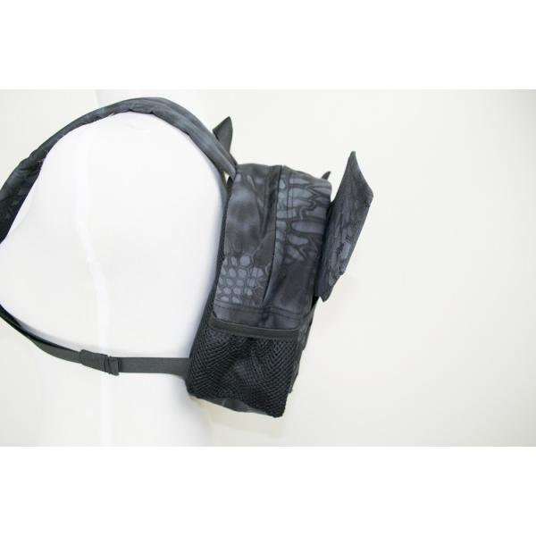 「Little Bat Backpack」 可愛い迷彩リュック 羽付き Typhon|tac-zombiegear|03
