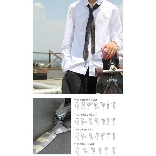 マルチカムブラック 迷彩 ネクタイ & 蝶ネクタイ セット Multicam Black【ポスト投函商品】|tac-zombiegear|02