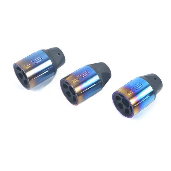 【SLR RIFLEWORKS タイプ】SLR Synergy Linear Hybrid Comp 5.56(14mm 逆ネジ)/チタンブルー|tac-zombiegear|02