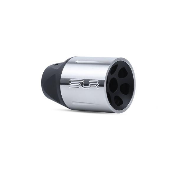 【SLR RIFLEWORKS タイプ】SLR Synergy Linear Hybrid Comp 5.56(14mm 逆ネジ)/シルバー|tac-zombiegear