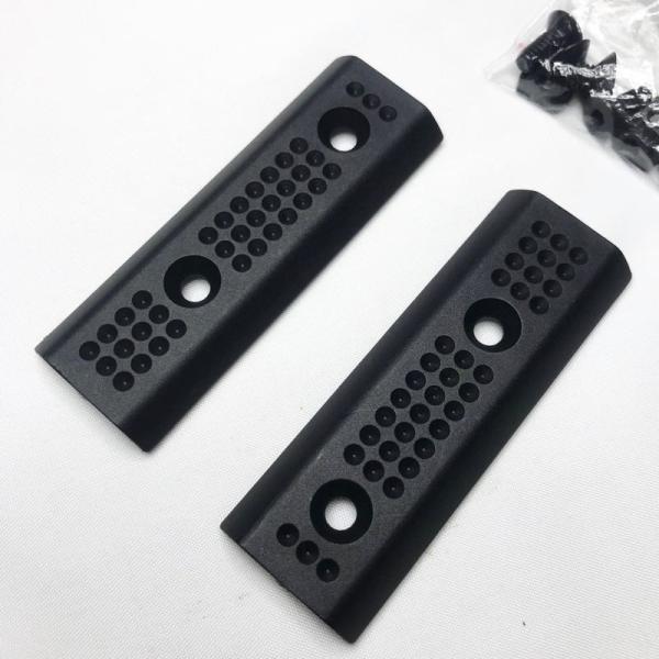 【SLR RIFLEWORKS タイプ】レールカバー BLACK【ポスト投函商品】|tac-zombiegear