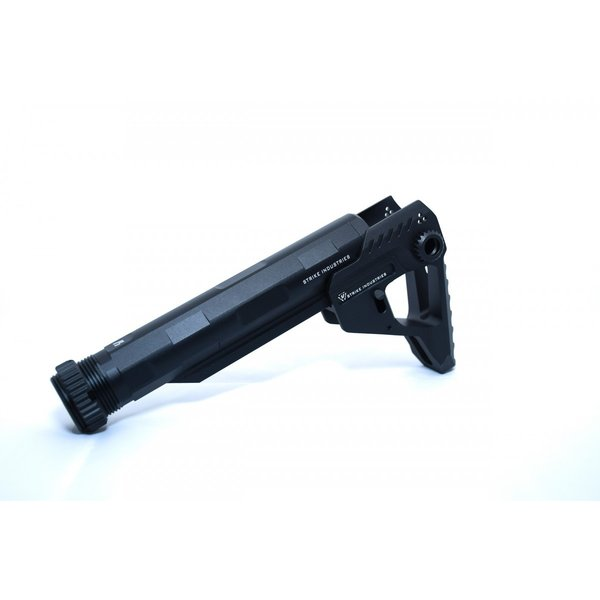 STRIKE INDUSTRIESタイプ Pit + Advanced Receiver Extension / Black-Black|tac-zombiegear