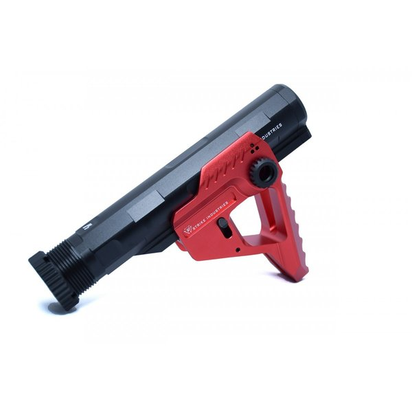 STRIKE INDUSTRIESタイプ Pit + Advanced Receiver Extension / Black-Red|tac-zombiegear|07