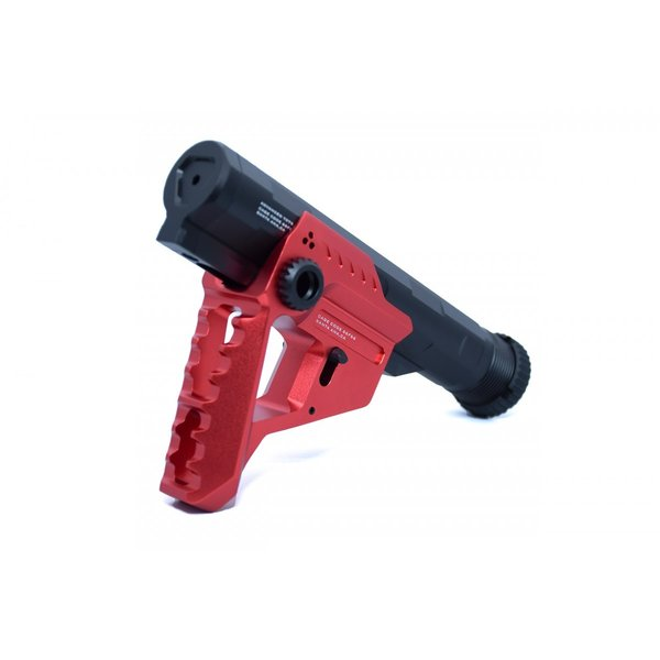 STRIKE INDUSTRIESタイプ Pit + Advanced Receiver Extension / Black-Red|tac-zombiegear|08