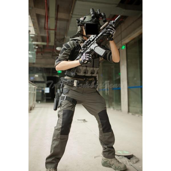 カスタム コンバットパンツ / レンジャーグリーン|tac-zombiegear|02