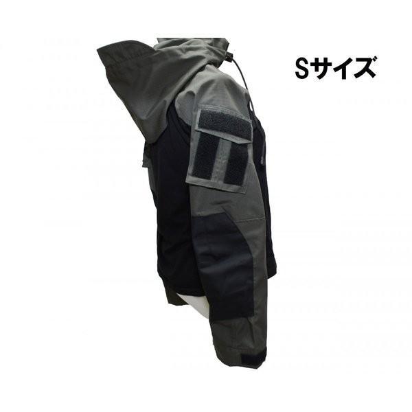フード付き カスタム コンバットシャツ / レンジャーグリーン 男女兼用|tac-zombiegear|14