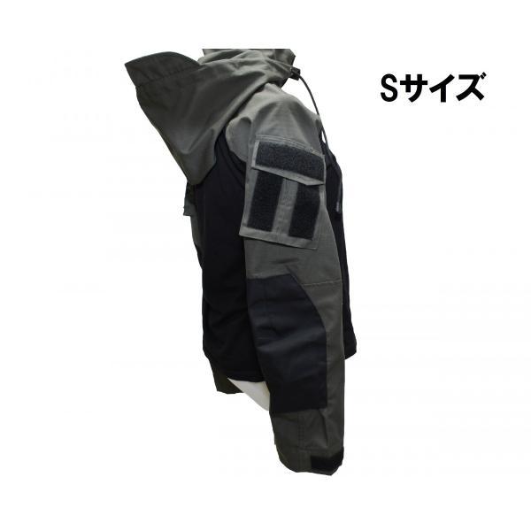 フード付き カスタム コンバットシャツ / レンジャーグリーン 男女兼用|tac-zombiegear|18