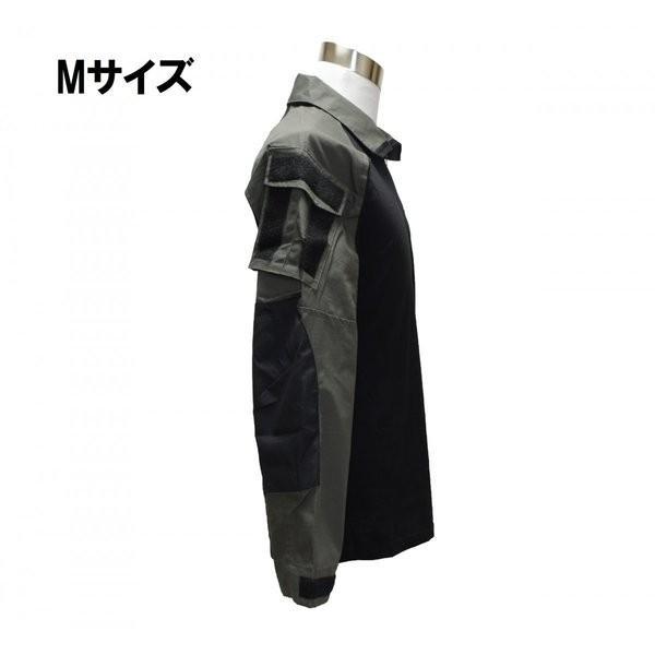 フード付き カスタム コンバットシャツ / レンジャーグリーン 男女兼用|tac-zombiegear|08