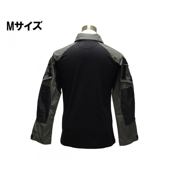 フード付き カスタム コンバットシャツ / レンジャーグリーン 男女兼用|tac-zombiegear|09