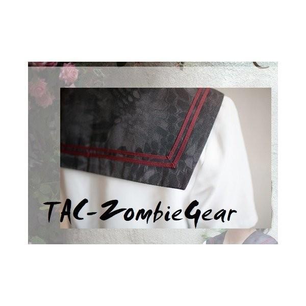 武装JK Typhon 半袖 セーラー服 上着|tac-zombiegear|04
