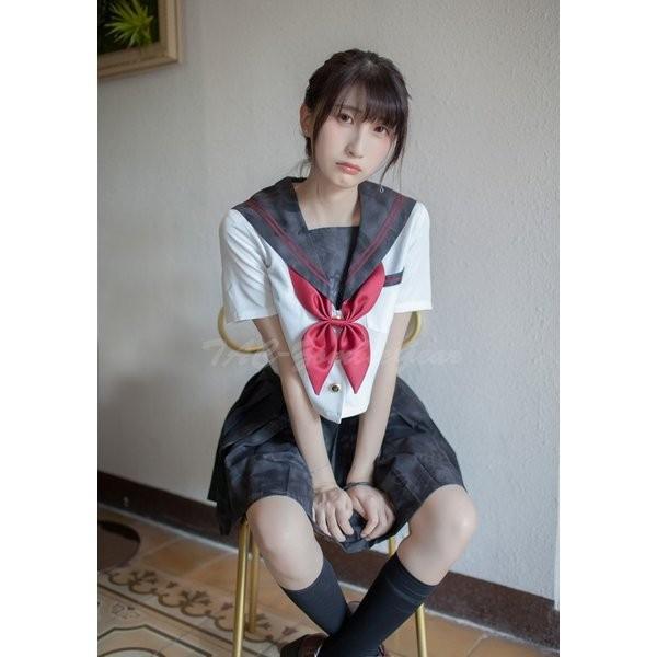 武装JK Typhon 半袖 セーラー服 上着|tac-zombiegear|05