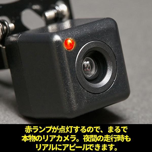 ドライブレコーダー ダミー リアカメラ ダミータイプ ランプ点灯 最大約30日使用可能 単三電池2本 ドラレコ搭載車ステッカー付 tachibana-youhinten 03