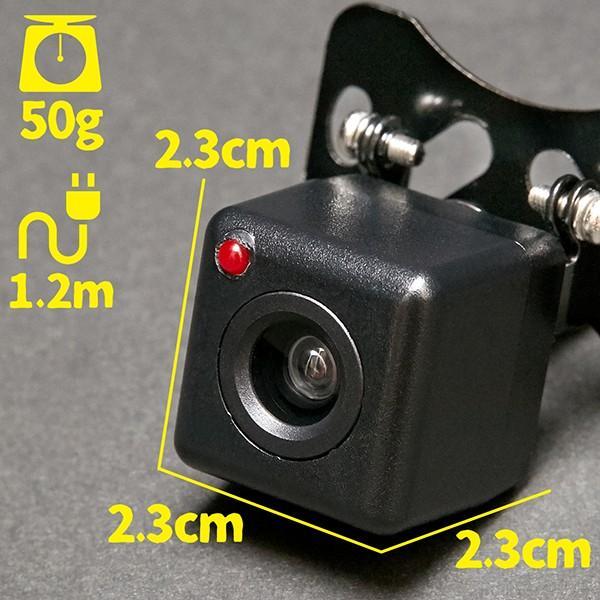 ドライブレコーダー ダミー リアカメラ ダミータイプ ランプ点灯 最大約30日使用可能 単三電池2本 ドラレコ搭載車ステッカー付 tachibana-youhinten 07